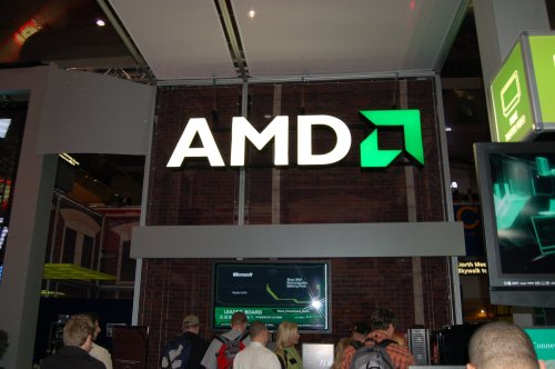 AMD's presence at CES this year was incredibly subdued, to say the least. AMD had one announcement for their ATI Mobility Radeon HD 3000 series, but was otherwise content at laying low. Their booth wasn't even inside the exhibition halls.