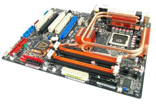 The ASUS P5K3 Deluxe motherboard is a DDR3 only board. ASUS claims to officially and natively support up to DDR3-1333 speeds on the board, which should be good news for enthusiasts.