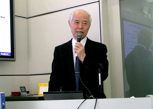 Mr. Kazuhiko Kobayashi, Executive Vice President of NEC Corporation talks VPCC.