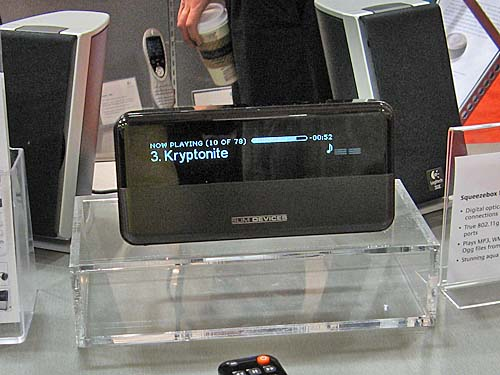 Logitech Squeezebox (formerly by Slim Devices) is an affordable way to stream digital music and Internet radio to your stereo systems.