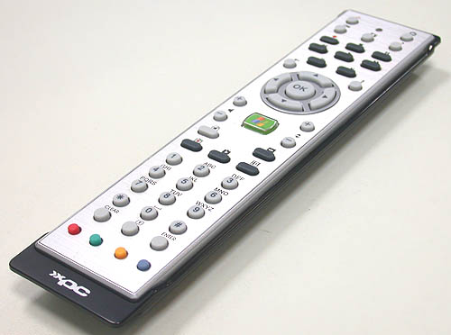 An appropriate inclusion for the X200 is this Windows Media Center based remote control. Shuttle seems to be really focusing on the HTPC aspect with such a move and complements its built-in hybrid TV tuner perfectly.