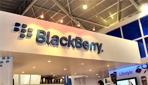 Everybody's favorite Blackberry was at CommunicAsia to share its goodness and variety of berries for the picking.