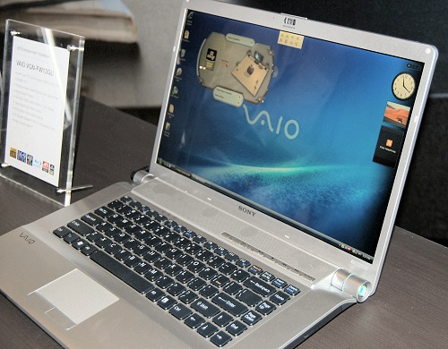 Last but not least is the VAIO FW series that's billed as an entertainment unit for the HD lovers. The VGN-FW13GU features an Intel Core 2 Duo T9400 (2.53GHz) processor with 4GB RAM, a Blu-Ray drive, a 16.4-inch screen and a 320GB hard disk drive. The estimated recommended retail price starts from S$2499 and the unit will come in three colors: titanium grey, white and black.