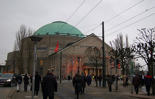The grand Hannover Congress Centrum was the venue for the opening ceremony of CeBIT 2009.