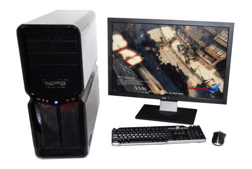 Extreme times call for extreme measures: the Dell XPS 730 with a 27-inch Dell 2709W monitor.