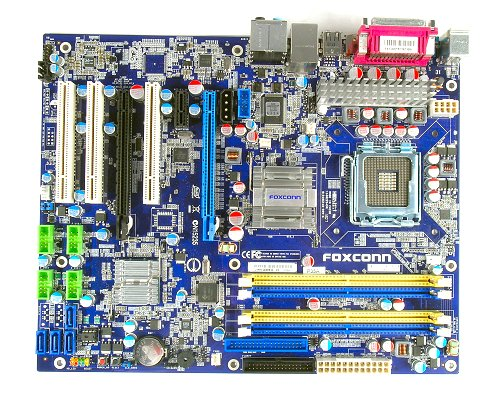 Foxconn P35A motherboard.