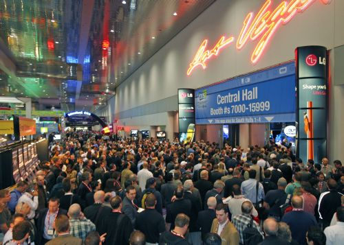 Busy and packed - that about describes the mood at the show floor. There are so many new offerings from every vendor, it's every technophile's dream to get immersed in CES; and all this happening in Vegas, we needn't say more.