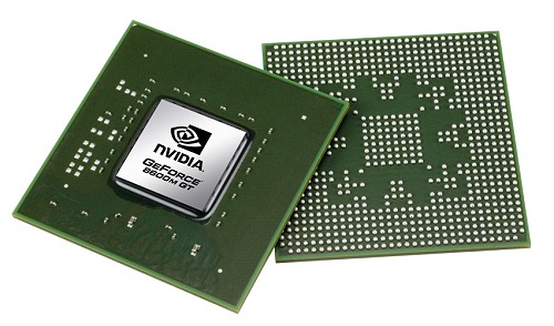 The GeForce 8600M GT - a top of the line DirectX 10 mobile GPU among the new GeForce 8M series.