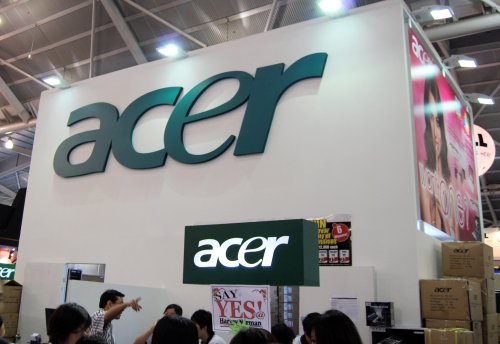 Acer's booth is probably the first place to head off to for those on a tight budget looking for a bargain.