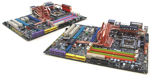 MSI has two Platinum P45 boards, one with DDR2 (P45 Platinum) and the other with DDR3 support (P45D3 Platinum).