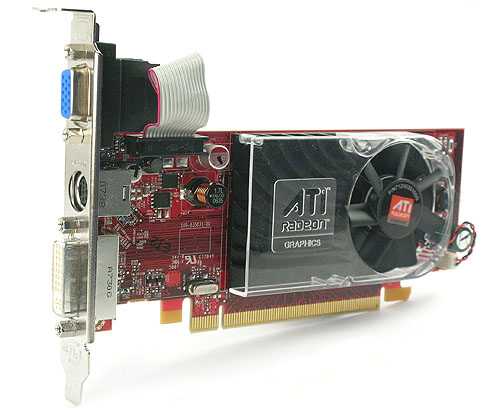 With its small PCB, the Radeon HD 3450 is perfect for users with a microATX board or small form factor chassis.