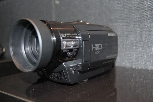 The HDR-HC9 HDV High-Definition camcorder makes a comeback for the HC series with this model that boasts 6-megapixel photo captures with a 3-megapixel Sony ClearVid CMOS sensor. It comes with new manual functions found in professional models, such as spot meter, focus, peaking, center marker, color bar and focus (infinity). Expected US release in February'08 at US$1,100.