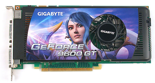 The best example of a standard reference board - the no frills Gigabyte GV-NX96T512H-B.