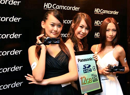 The Panasonic SD100 and HS100 are definitely camcorders to look out for, especially if you want the flexibility of having creative freedom on one hand, and extreme ease of use in the other. Oh, don't mind the gigantic SDHC card.