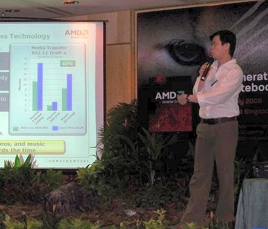 Tan See Ghee, Technology Director (South Asia) of AMD, explained what the new notebook platform had to offer and other recent updates in this field.