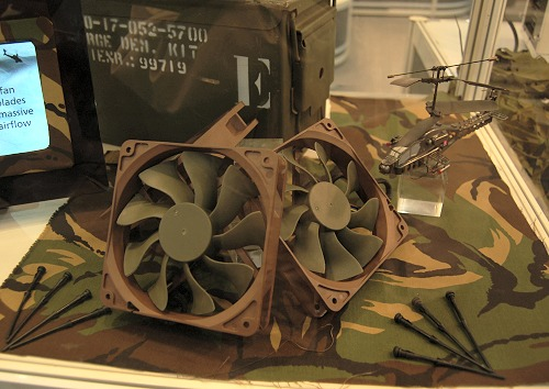 Known as the Apache, these casing fans promise 30% more airflow thanks to its blade design, yet operate silently with hydro dynamic bearings