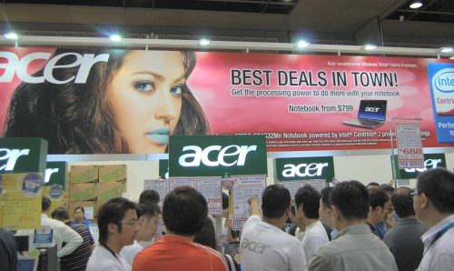If good deals are what you're looking for, then Acer, known for its really cheap prices, should be one of your stops.