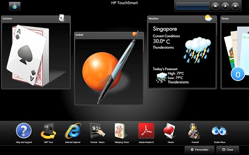 Software Redux : HP TouchSmart IQ506 PC - The Full Review