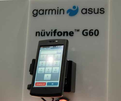 New however is the recent collaboration with ASUS for the nuvifone G60 and the M20. Shown here is the G60. Sports a huge 3.55-inch display, location-based service application known as Ciao for social networking, full connectivity suite such as Wi-Fi, HSDPA and Bluetooth.