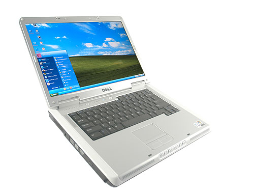 Dell's incumbent 15-inch workhorse: the Inspiron 6400. There has not been any aesthetic changes since the Inspiron 6000 series.