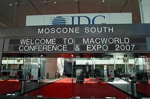 Yup, we're here, and right on time. The Macworld conferences will run from Monday through Friday, January 8th - 12th, while the expo will open its doors at 11 a.m. on January 9th - right after Apple CEO Steve Job's keynote address.