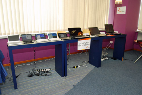 "Remember the old Eagles song ""Pretty Maids All in a Row""? In this case, it is ""Pretty Netbooks and DTRs All in a Row""!"