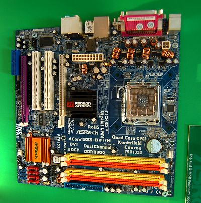 Amusingly, there's an identical board for Intel LGA775 processors that's named 4Core1333-DVI/H. It used the ATI Radeon Xpress 1250 Northbridge with the ATI SB600 Southbridge. If you aren't aware by now, both the AMD690G and Radeon Xpress 1250 are similar chipsets, with the exception that the latter has a memory controller hub to cater to Intel processors. The differing naming schemes can confuse people, but otherwise, they are very much the same chipset base. Thus this board has all of the same features as the above AMD board.