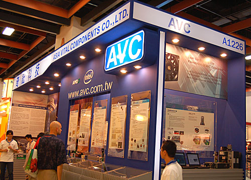 You may not recognize the name Asia Vital Components readily but that's because this company deals mainly with other manufacturers, providing cooling solutions to them. Its booth at Computex is also heavily oriented towards trade visitors and not your usual end user.