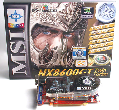 MSI's latest bid to jazz up the mid-range GeForce 8600 series is the Twin Turbo, a graphics card with two BIOS chips onboard, each with different BIOS settings.