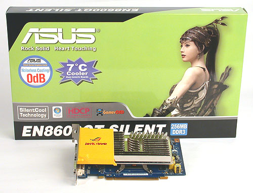 ASUS' Silent edition GeForce 8600 GT claims to be 7 degrees cooler than generic boards but do they mean a similarly passively cooled card?