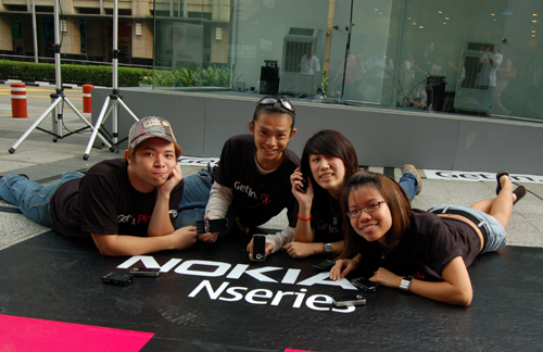 From left: Marcus Tung, Lucas Ng, Dawne Lee and Gwen Tan, the four contestants who will battle it out in the next 45 hours from 16th November 6pm.