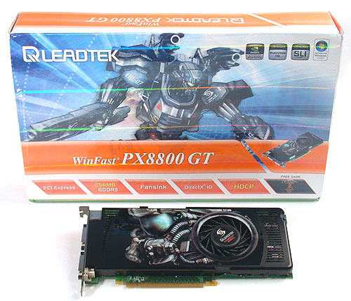 The Leadtek WinFast PX8800GT 256MB.