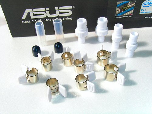 water-cooling accessories to cater to different pipe sizes.