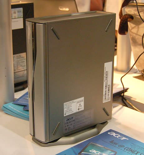 For those looking for a desktop computer with a very small footprint and performance of Intel Core 2 Duo technology, the Acer Mini PC is one for your consideration. It measures just 25cm tall and 6cm thick, and Acer is providing up to $300 instant cash off and a 2GB SD card (for UOB card members only). There are three versions on sale with prices starting from $1,199 to $1,799.