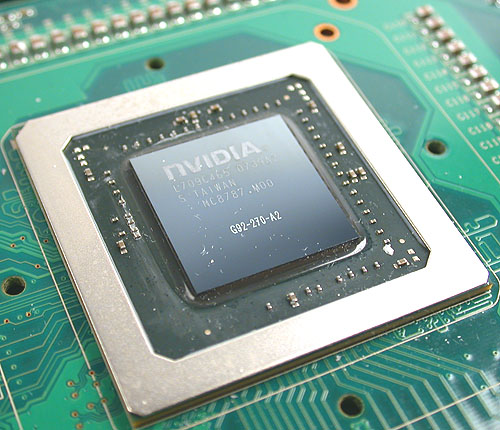 At the heart of the NVIDIA GeForce 8800 GT is the G92, a new core manufactured using a 65nm process but featuring even more transistors than the G80.