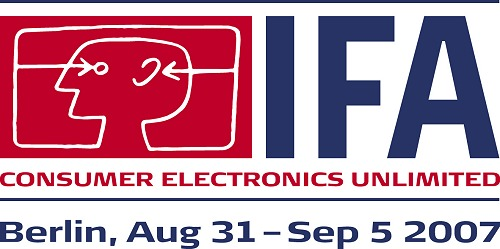 IFA 2007 will be held once again in Berlin, Germany August 31 to September 5, 2007. The organizers gfu and Messe Berlin have confirmed at the Pre-IFA 2007 conference in Monte Carlo, Monaco that the event will be bigger and better than the event held in 2006, and possibly, the record-breaking event in IFA 2005 as well.