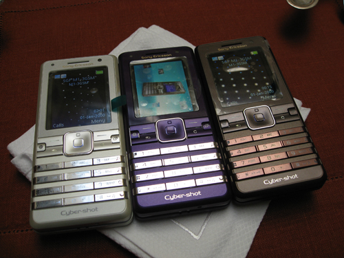 The K770i is one of the several Cybershot phones during the era of Sony Ericsson.