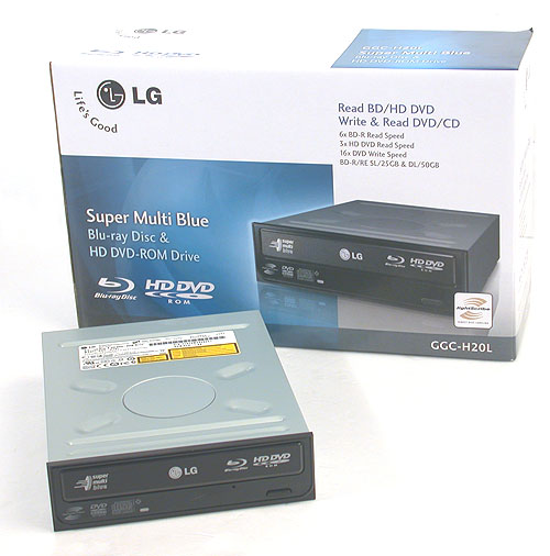 LG is one of the first to reconcile the differences between the two opposing HD camps with this drive that's able to read both Blu-ray and HD DVD discs.