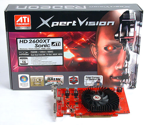 Sonic editions from XpertVision have always been clocked at relatively high clock speeds and this DDR3 version is no different, with a core clock of 800MHz and memory running at 1600MHz DDR.