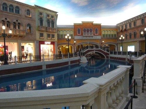The Venetian in Macau.