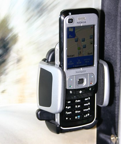 "As its ""Navigator"" name implies, the 6110 Navigator is a navigation-enabled mobile phone designed for the mass market. Within its slider form factor is a combination of GPS and AGPS (Assisted Global Positioning System). The phone features full personal navigation experience with integrated maps, routing and navigation via a one-touch Navigator key."