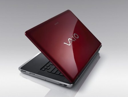 The sexy Sony VAIO CZ series comes in Blazing Red (as shown), Indigo Blue, Luxury Pink, Pure White and Black.