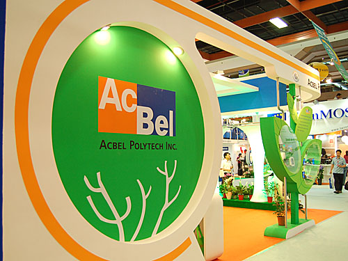 A major OEM for power supplies (PSUs), AcBel also has its own retail arm and we saw evidence of these products at its booth.