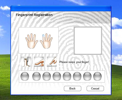 Of course, fingerprint recognition and security software is included with the sensor. However, while it could register multiple profiles, the software had a strange tendency to uninstall itself if you didn't create a profile the first time you run it.