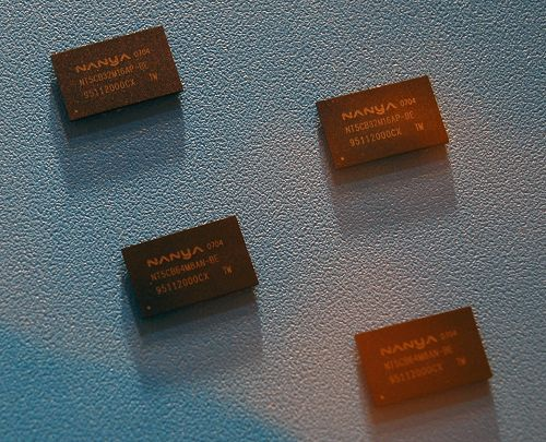 Here are a handful of DDR3 memory devices up-close.