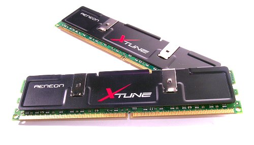 Putting the AENEON XTUNE DDR2-1066 to the test.