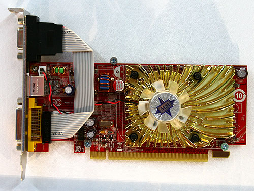 The MSI RX2400PRO-TD256EH is based on the budget Radeon HD 2400 PRO VPU. This low profile card comes with 256MB DDR2 memory clocked at 800MHz while its core will run at 500MHz.