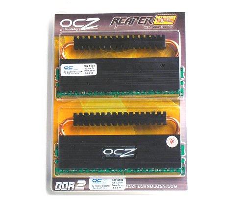 OCZ PC2-8500 Reaper HPC Edition 2GB (2 x 1GB) kit.