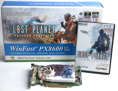One of the earliest DirectX 10 games available for the PC is Capcom's Lost Planet: Extreme Condition, which is itself a port from the XBox 360 version.