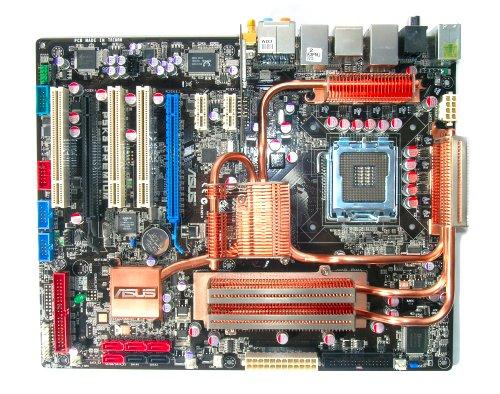 The ASUS P5K3 Premium motherboard.